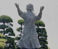 Памятник М.Уэсибе в Ивама