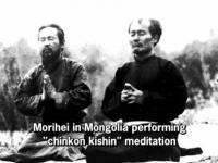 М.Уэсиба и О.Дегучи в Монголии