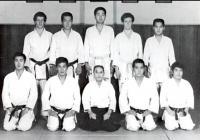 Сиода Годзо с учениками